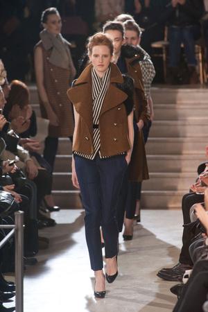Показ Bouchra Jarrar коллекции сезона Весна-лето 2013 года Haute couture - www.elle.ru - Подиум - фото 479544