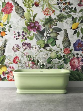 Панорамные обои в ванной. Модный декор для самой влажной комнаты (фото 10.1)
