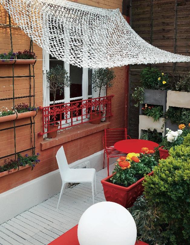 Как защитить летнюю террасу и балкон от шума? (фото 7)