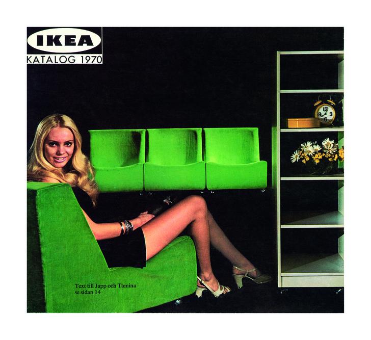 Обложка каталога ИКЕА 1970года