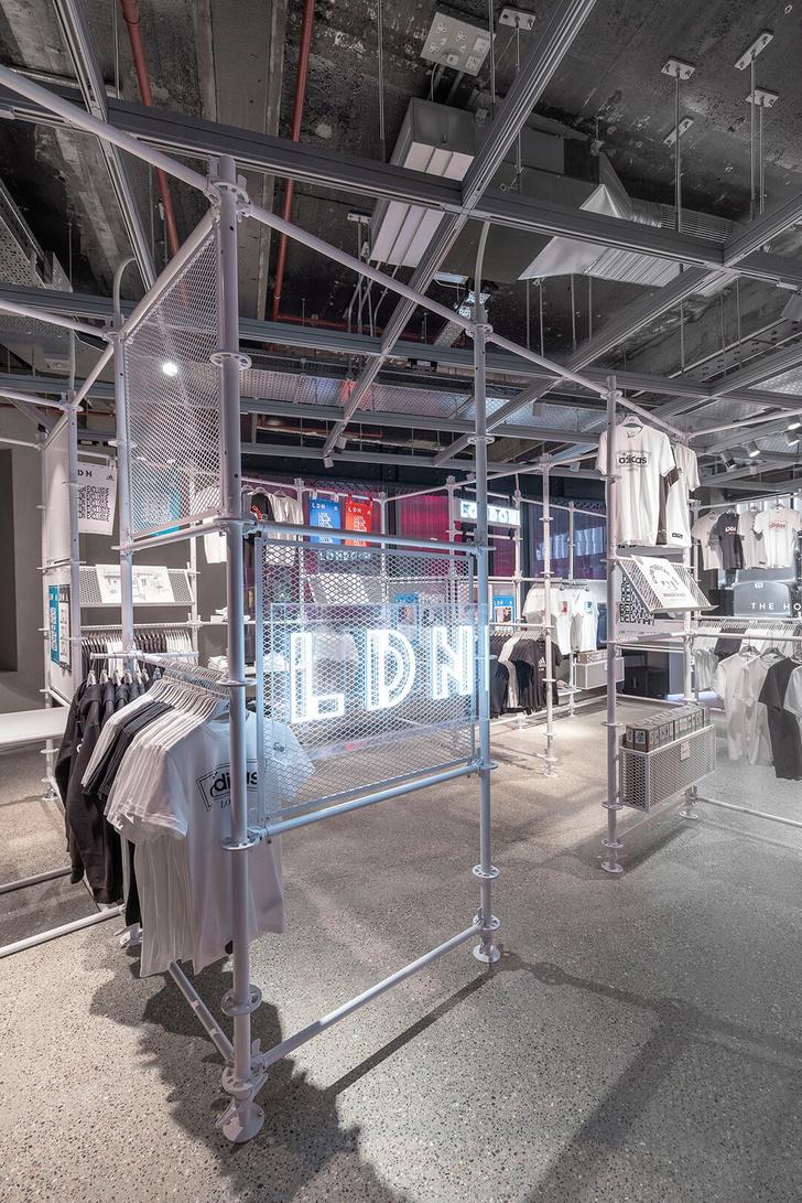 Новый флагман Adidas в Лондоне (фото 6)