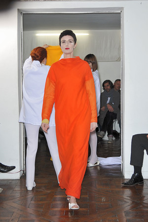 Показ Adeline Andre коллекции сезона Весна-лето 2010 года Haute couture - www.elle.ru - Подиум - фото 138072