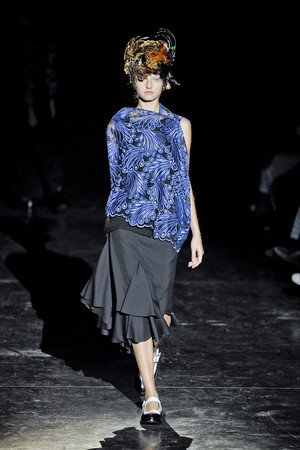 Показ Junya Watanabe коллекции сезона Весна-лето 2012 года Prêt-à-porter - www.elle.ru - Подиум - фото 310866