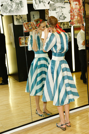 Показ Dolce & Gabbana коллекции сезона Весна-лето 2013 года prêt-à-porter - www.elle.ru - Подиум - фото 445220