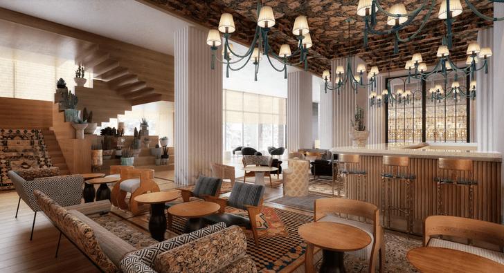 Austin Proper Hotel: новый отель по дизайну Келли Уэстлер (фото 13)