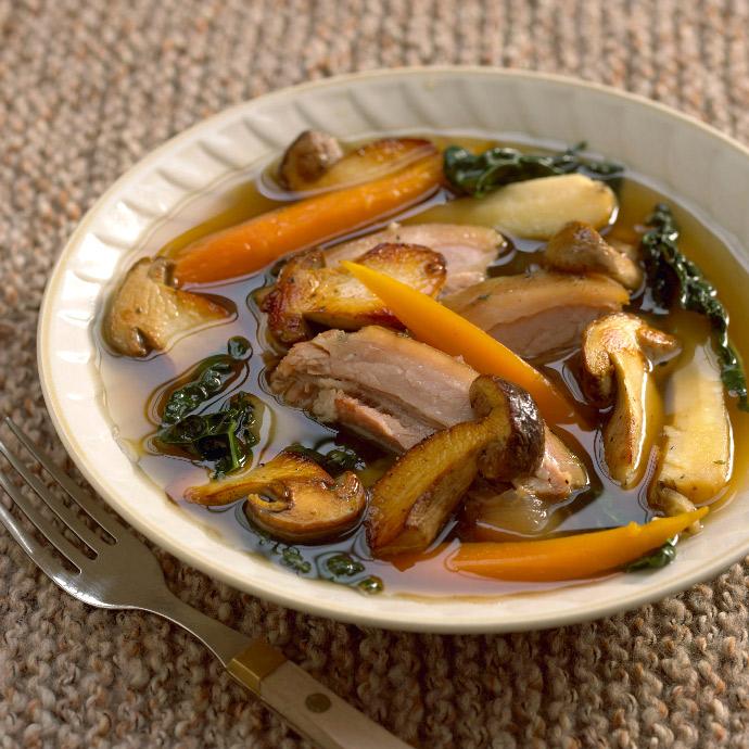Легкий острый суп