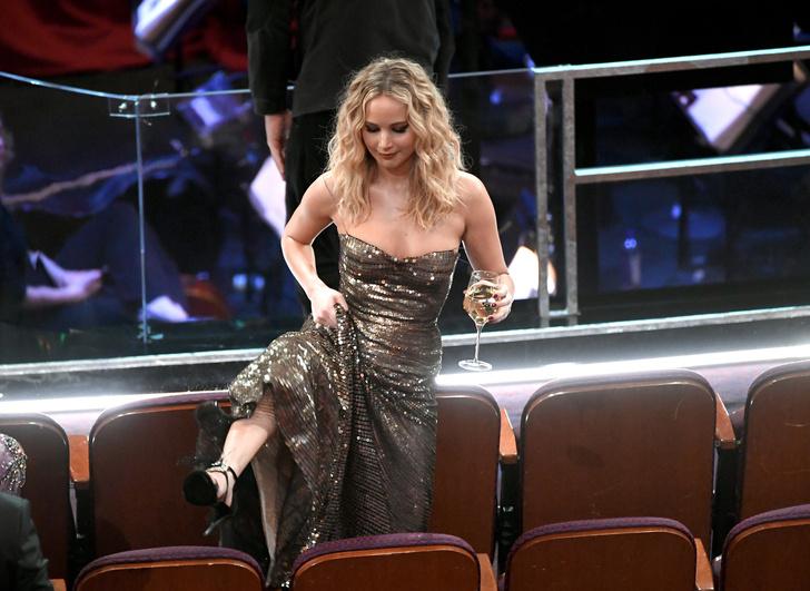 Дженнифер Лоуренс произвела фурор на «Оскаре» (фото 1)