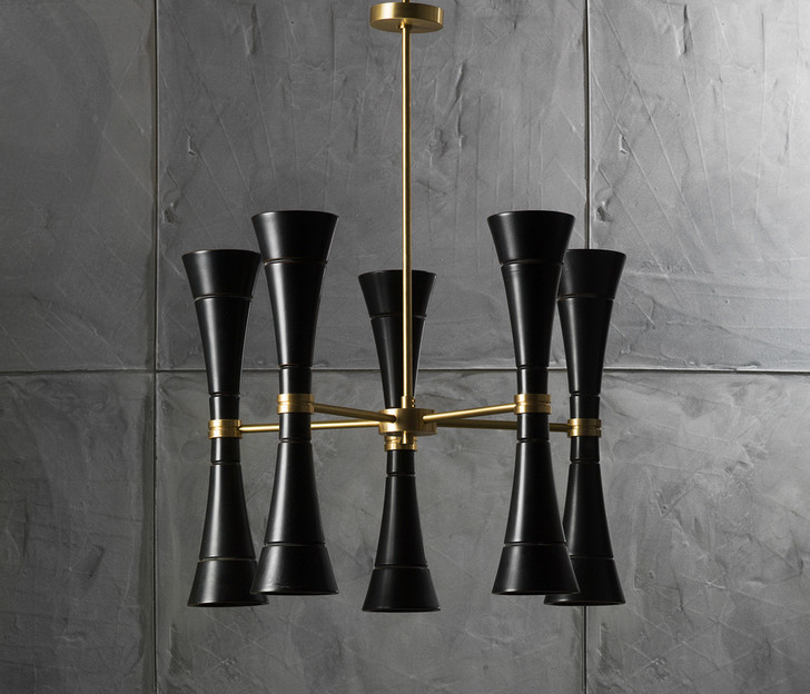 Топ 10: модные люстры и светильники для столовой