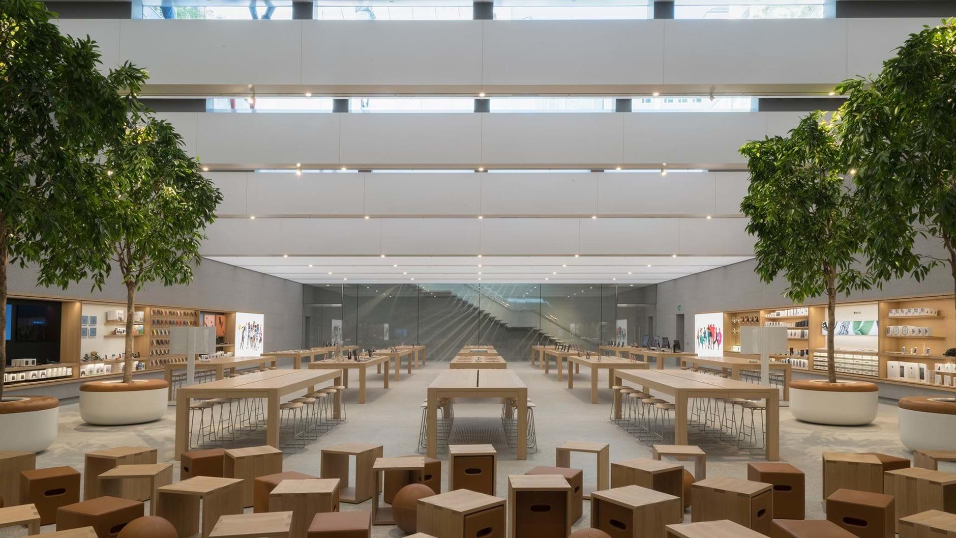 10 самых эффектных бутиков Apple (галерея 35, фото 3)