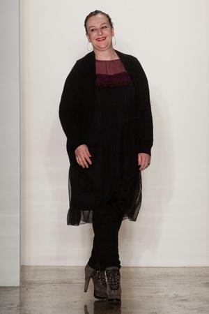 Показ Sophie Theallet коллекции сезона Осень-зима 2013-2014 года prêt-à-porter - www.elle.ru - Подиум - фото 493201