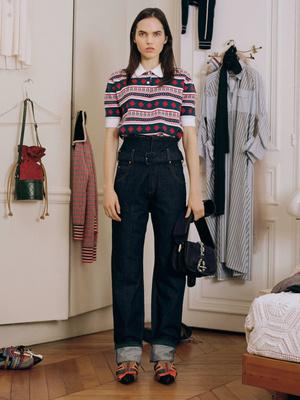 7 новых способов носить брюки на высокой талии (фото 25)