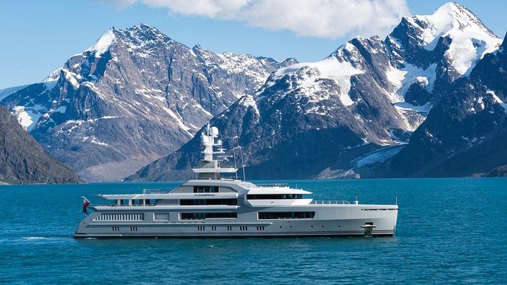 Яхта Cloudbreak, проект Кристиана Лиэгра