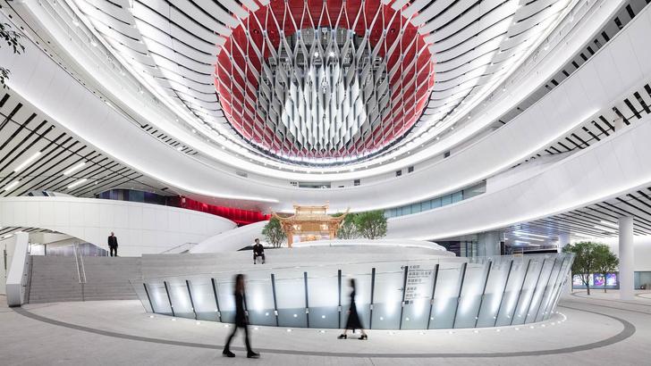 Футуристичный театр оперы в Гонконге (фото 6)