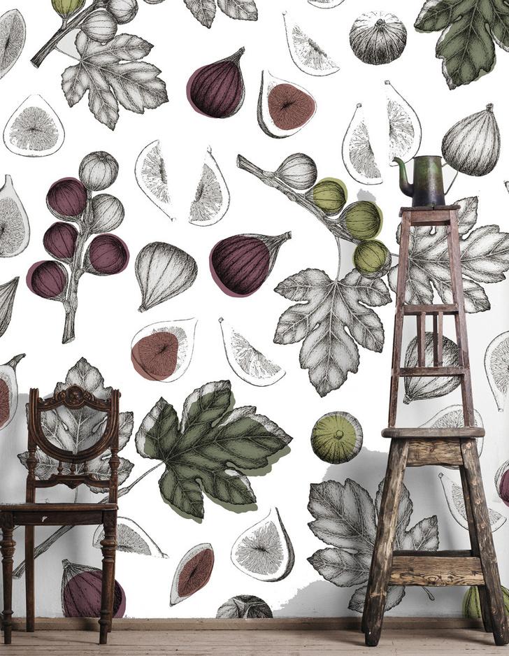 Топ 10: Праздник урожая. Овощи, фрукты и ягоды на предметах декора фото [10]