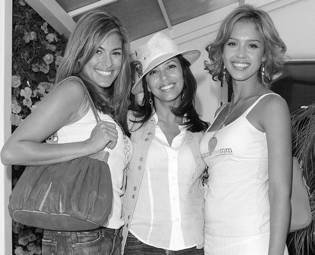Ева Мендес, Ева Лонгория и Джессика Альба фото
