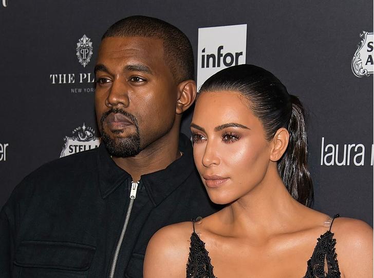 Ким Кардашьян и Канье Уэст на грани развода (фото 1)