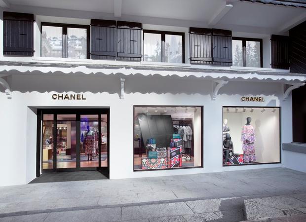 Открытие эфемерного бутика CHANEL в Куршевеле