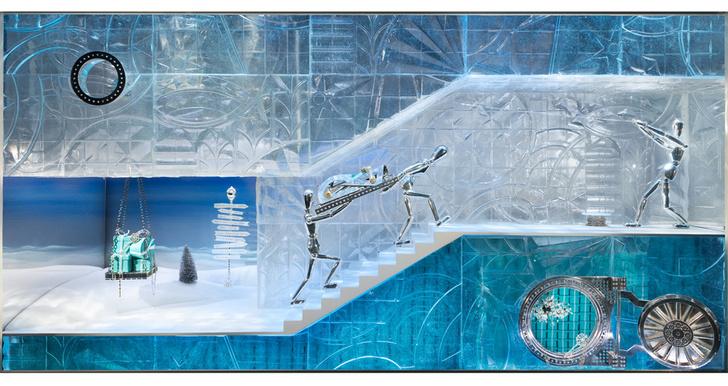 Зимняя сказка: лучший рождественский декор витрин фото [22]