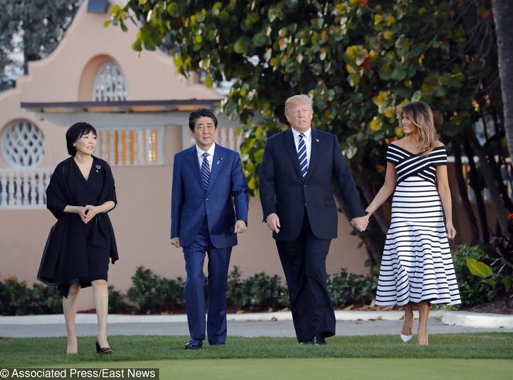 Весна в Белом доме: новый выход Дональда и Мелании Трамп (фото 3)