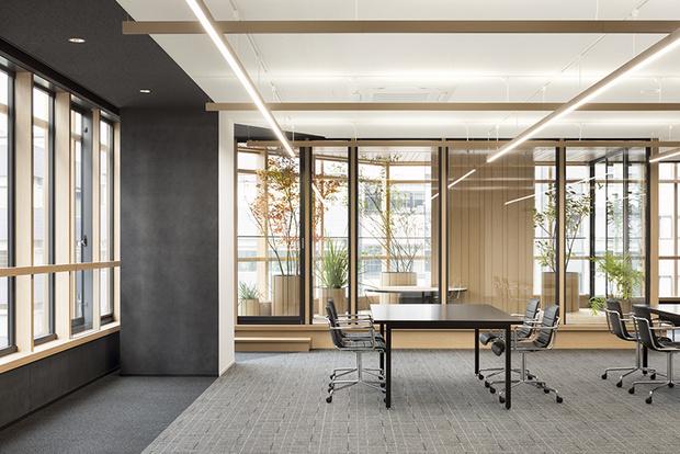 Nendo + Ikawaya Architects: офисное здание в Токио (фото 9)
