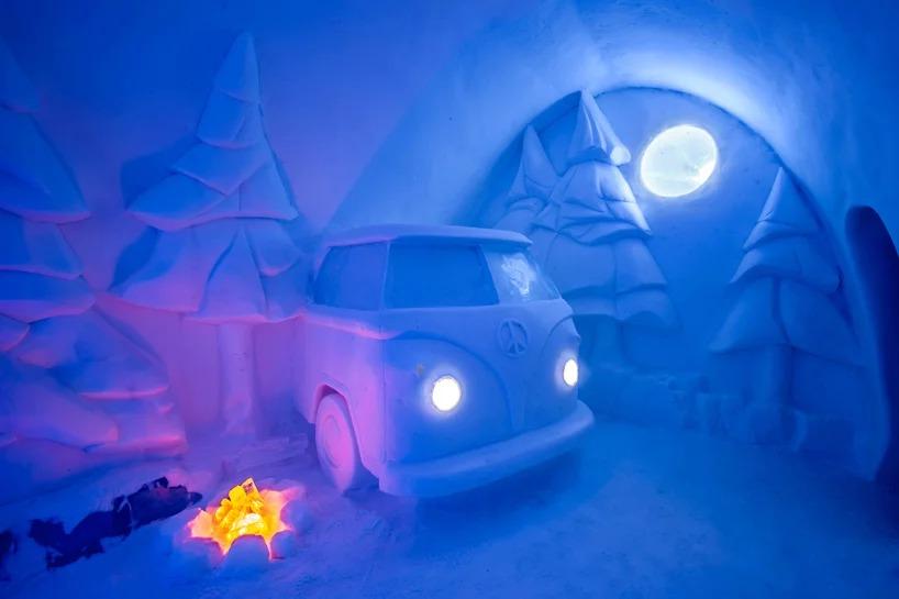 В Швеции открылся ледяной отель (галерея 6, фото 3)