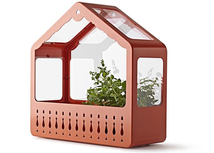 Застекленная теплица-полка IKEA PS, IKEA, ее можно повесить на стену или поставить на подоконник.