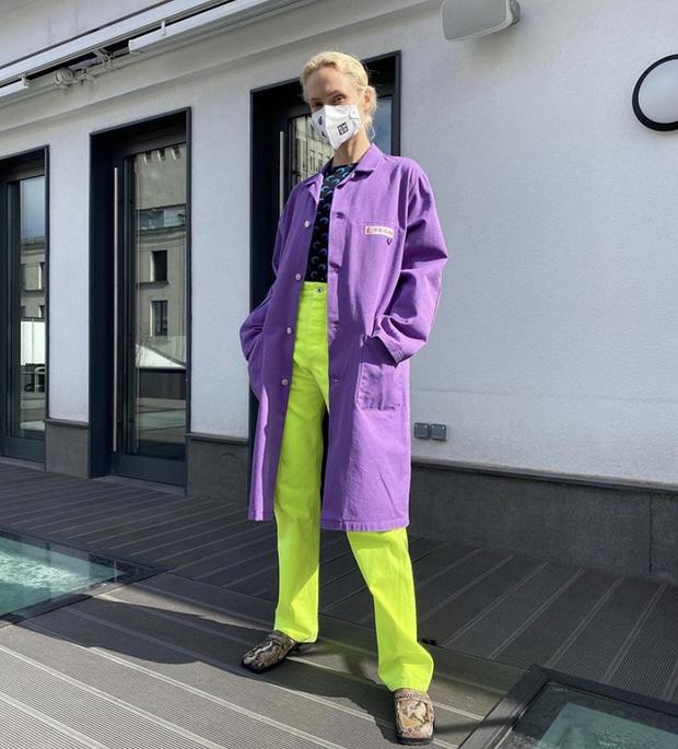 Фиолетовый + неон: главное цветовое сочетание весны показывает Ольга Карпуть (фото 1)