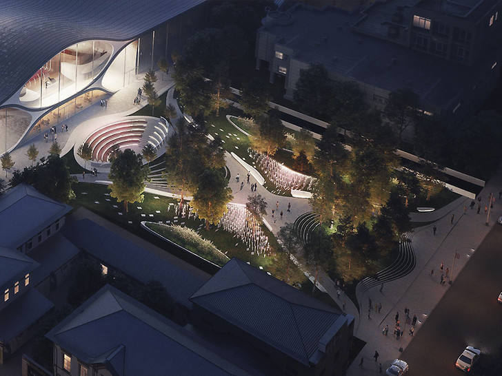 В Екатеринбурге появится филармония по проекту Zaha Hadid Architects (фото 2)