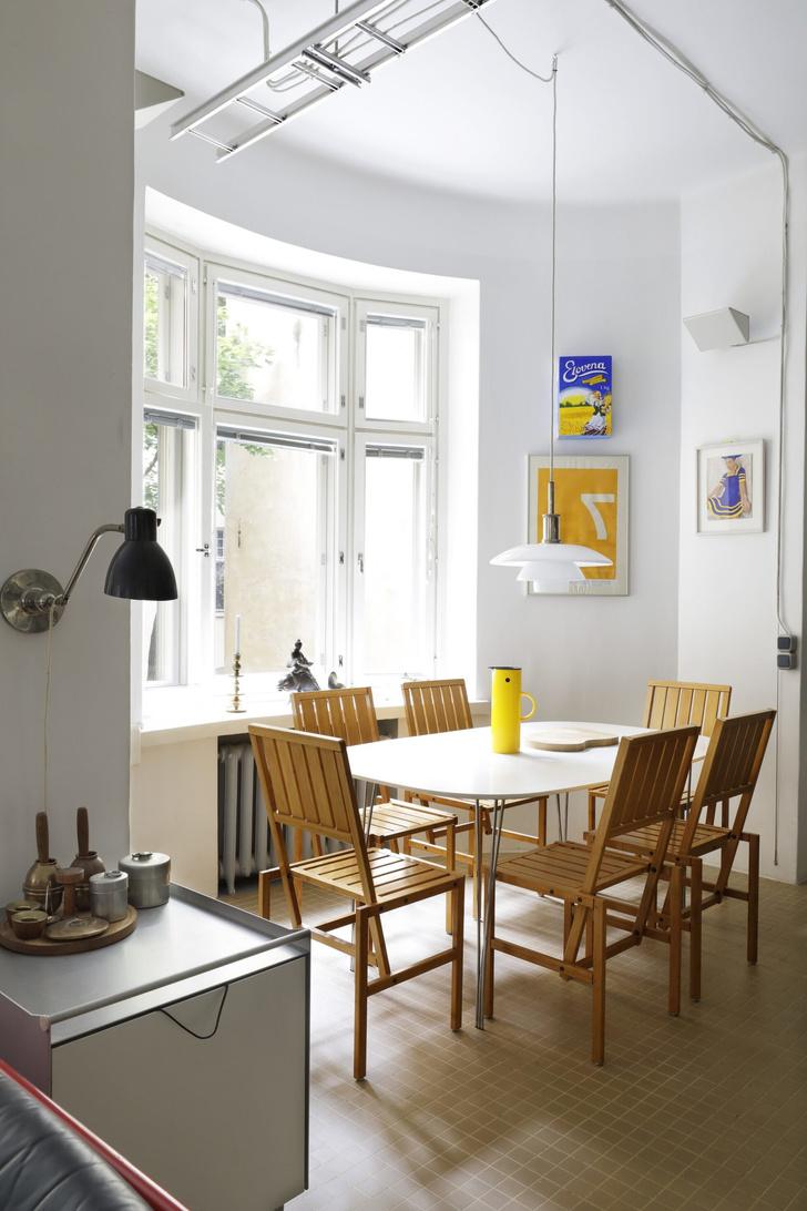Квартира-студия творческой пары в Хельсинки (фото 9)