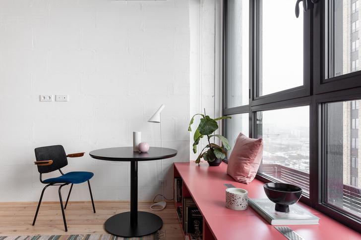 Короткий метр: студия 32 м² для молодой девушки (фото 3)