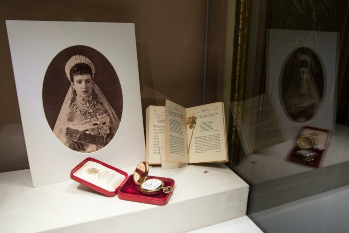 Карманные часы, изготовленные к коронации Николая II