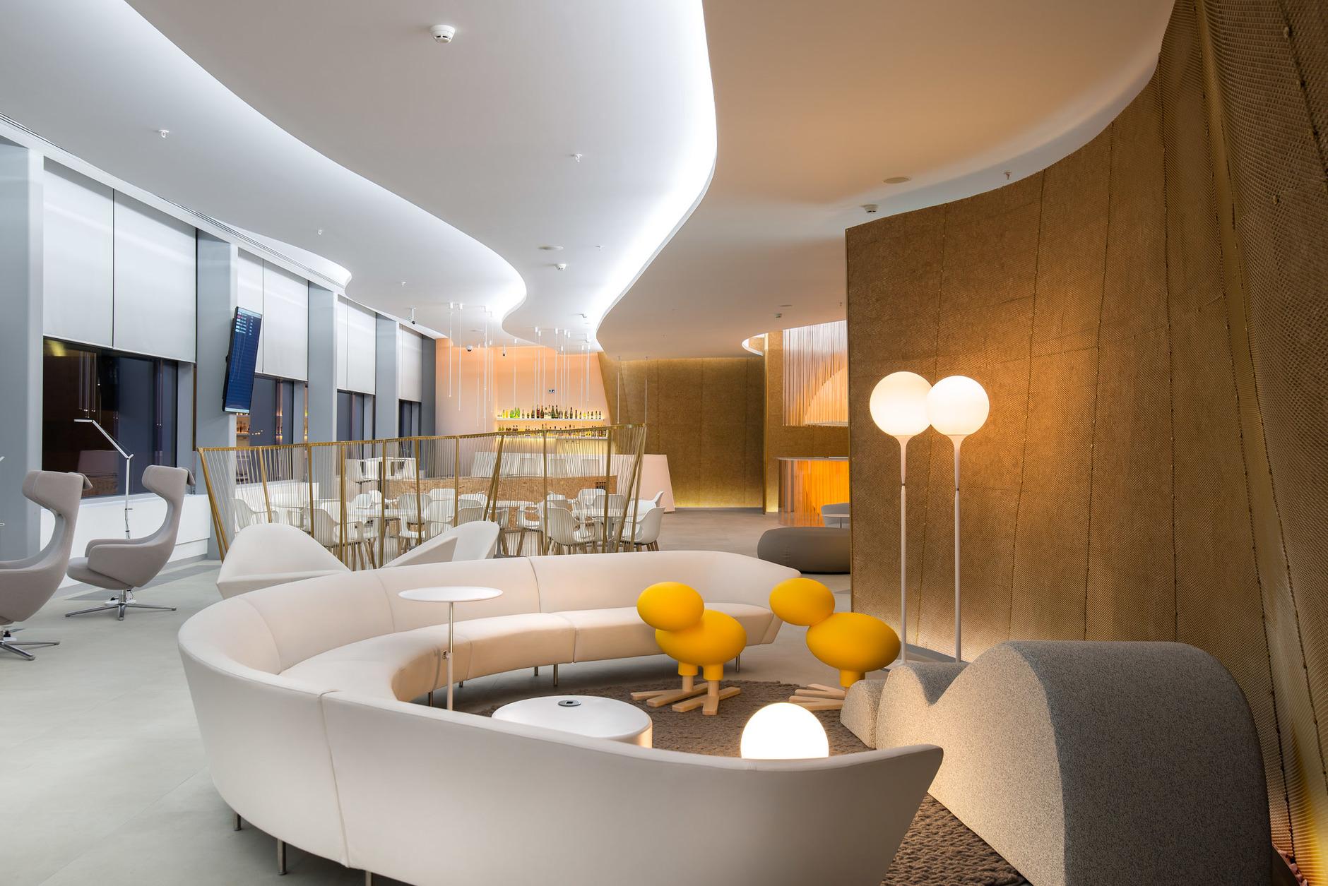 Бизнес-лаунж аэропорта «Платов» в Ростове-на-Дону: проект VOX Architects (галерея 9, фото 0)