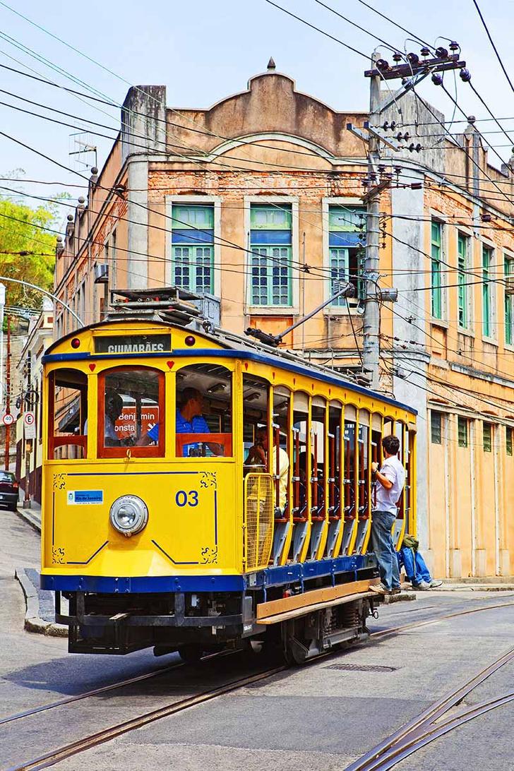 Район Санта-Тереза в Рио