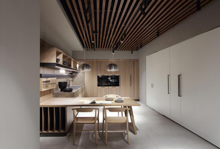 Шоу-рум кухонь Arclinea по проекту Антонио Читтерио (фото 6)