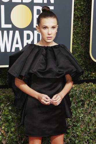 Женщины в черном: самые эффектные платья «Золотого глобуса» (фото 14)