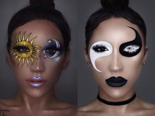 20 идей макияжа на Хэллоуин (фото 41)