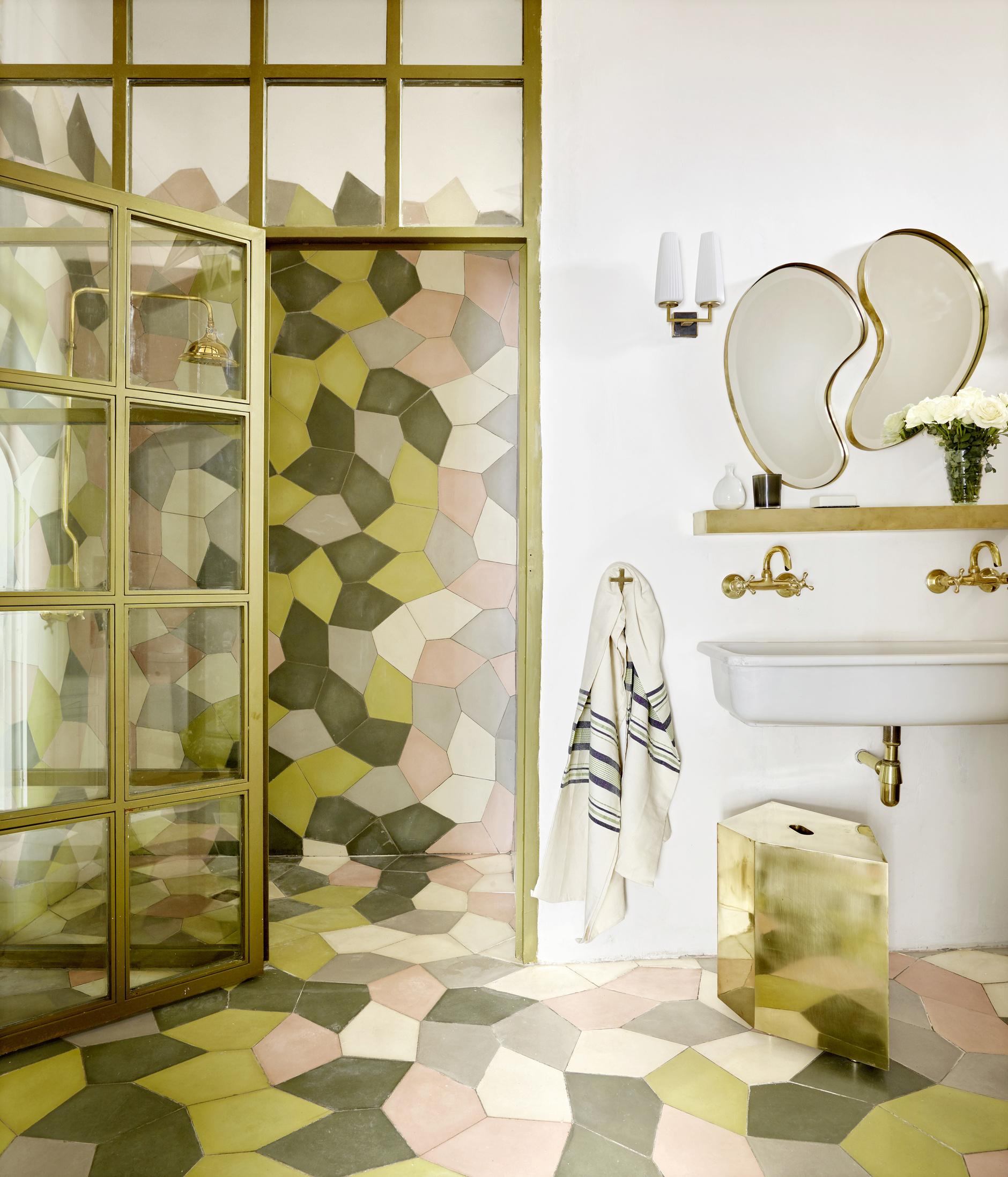 Плитка в ванной: 40+ нескучных решений (галерея 1, фото 3)