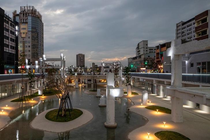 Городской бассейн на месте бывшего долгостроя в Тайнане (фото 9)