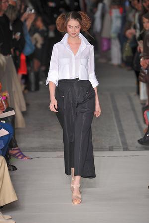 Показ Lefranc Ferrant коллекции сезона Осень-зима 2009-2010 года haute couture - www.elle.ru - Подиум - фото 88065