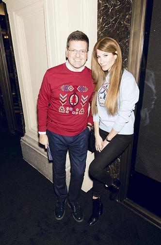 Елена Перминова, Даша Жукова и другие звезды на открытии бутика Moncler в ГУМе фото [17]
