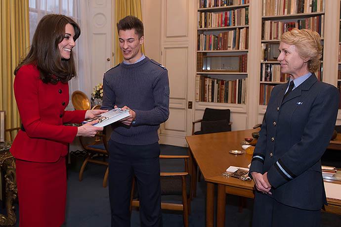 Кейт Миддлтон займется военным делом