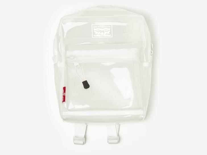 Transparent spring: прозрачный рюкзак Levi's (фото 1)