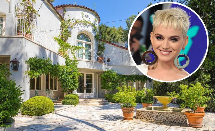 Кети Перри расстается с домом в Лос-Анджелесе фото [22]