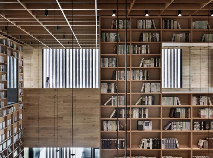 Деревянная библиотека в Ханчжоу (фото 15)