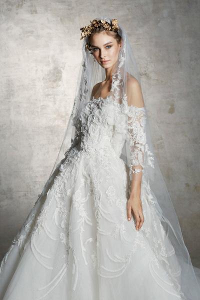 Wedding time: свадебные коллекции 2019 в стиле ретро (галерея 6, фото 13)