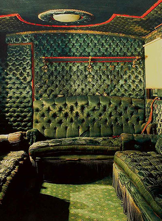 Вагон, оформленный для супруги Наполеона III.