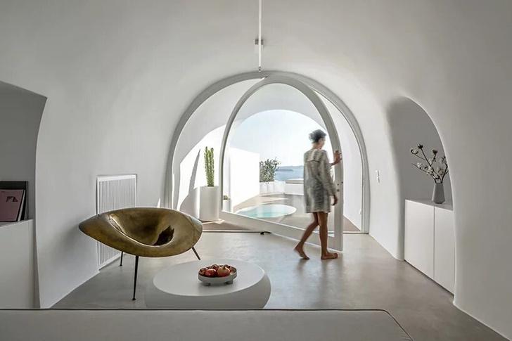 Saint Hotel на острове Санторини по проекту Kapsimalis Architects (фото 10)