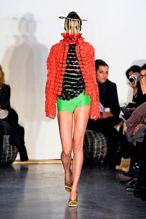Показ Maurizio Galante коллекции сезона Весна-лето 2012 года Haute couture - www.elle.ru - Подиум - фото 330258