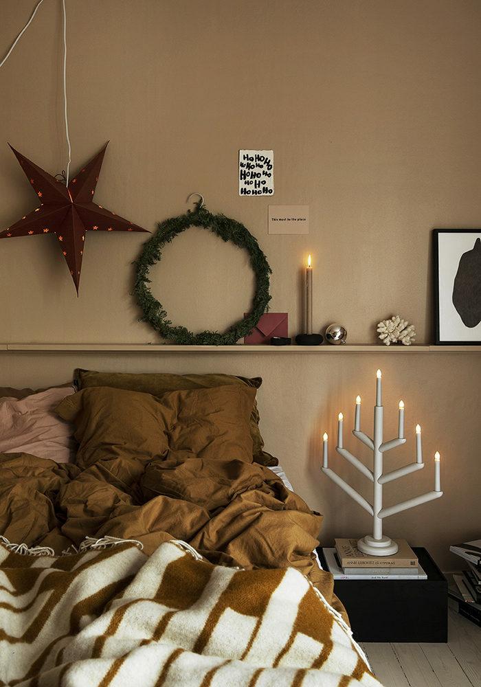 Зима, приходи! Новогоднее настроение в спальне (фото 5)