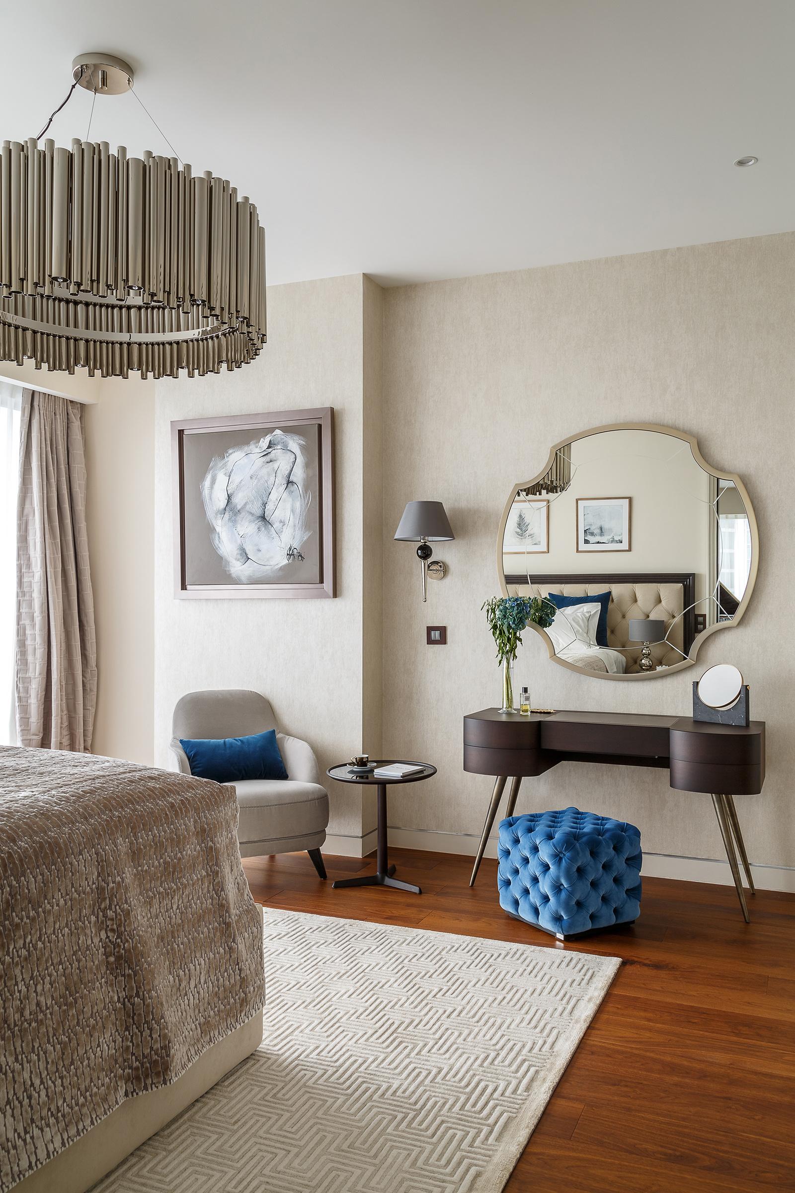 Туалетный столик в спальне: 20+ примеров (галерея 1, фото 1)